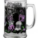 Disney Parks The Haunted Mansion Glass Mug Cup New