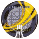 "Disney Parks Walt Disney World Epcot Center Spaceship Earth 7"" Ceramic Plate New"
