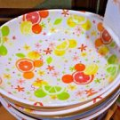 Disney Parks Exclusive Mickey Mouse Icon Citrus Serving Bowl New