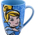 Disney Parks Cinderella Out Past Midnight Tall Ceramic Cup Mug New