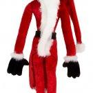 """Disney Parks 11"""" Nightmare Before Christmas Jack Skellington in Santa Suit New"""
