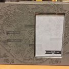 DISNEY PARKS DISNEYLAND RESORT 1955 CLASSIC MAP PICTURE PHOTO FRAME NEW