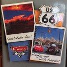 DISNEY PARK DCA PIXAR CARS CARS LAND ROUTE 66 SPECTACULAR VIEW! COLLAGE MAGNET
