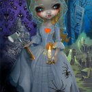 Disney WonderGround Haunted Mansion Bride Deluxe Print Jasmine Becket-Griffith
