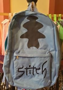 DISNEY PARKS EXCLUSIVE STITCH SIGNATURE HOODIE BACKPACK ADULT SIZE NEW