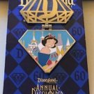 Disneyland 60th Diamond Celebration LE Snow White Pin Annual Passholder New HTF
