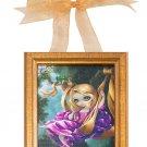 Disney WonderGround Rapunzel in The Swing Canvas Frame Jasmine Becket-Griffith