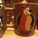 DISNEY PARKS HUMPHREY BEAR UNIQUE HANDLE CERAMIC COFFEE MUG NEW
