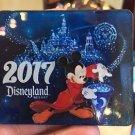 Disneyland Resort 2017 Sorcerer Mickey Mouse Acrylic 3-D Magnet New