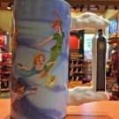 DISNEY PARKS PETER PAN AND FRIENDS TALL CERAMIC MUG CUP NEW