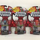 Bonka Zonks Series 1 Pack of 3 Lot #6 New and Sealed