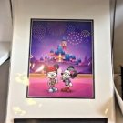 Disney WonderGround Diamond Celebration Hipster Forever Print Jerrod Maruyama