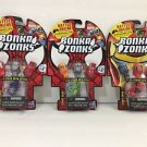 Bonka Zonks Series 1 Pack of 3 Lot #3 New and Sealed