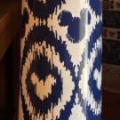 "Disney Parks Exclusive Mickey Mouse Icon Indigo Ceramic 8"" Vase Set of 2 New"