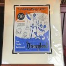 Disneyland Diamond Celebration 60th Anniversary Happiest Place on Earth Print