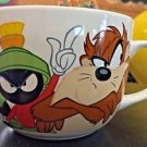 Six Flags Magic Mountain Looney Tunes Multi Character Jumbo Ceramic Mug Cup New