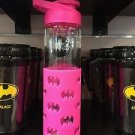 Six Flags Magic Mountain Dc Comics Batgirl Water Bottle Flip Top Rubber Grip New
