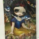 Disney WonderGround Snow White In The Forest Postcard by Jasmine Becket-Griffith