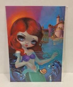Disney WonderGround Little Mermaid Ariel Postcard by Jasmine Becket-Griffith New
