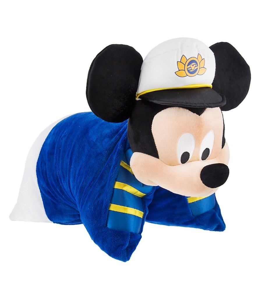 Disney Cruise Line Exclusive Mickey Mouse Pillow Plush New with Tags