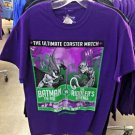 Six Flags Magic Mountain Batman Vs The Riddler T-Shirt SIZE: S,M,L XL,XXL New