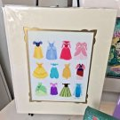 Disney WonderGround Disney Princesses Dressed in Dreams Deluxe Print by Ann Shen