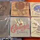 Disney Parks Adventurers Club Big Al Louie's Casey's Corner Coaster Set of 6 New