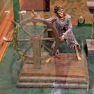Disney Parks Pirates of the Caribbean 50th Skeleton Helmsman Medium Figure New