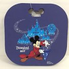 DISNEY PARKS DISNEYLAND RESORT 2017 SORCERER MICKEY PARADE FIRM FOAM CUSHION NEW