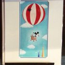 Disney Parks Mickey Mouse Floating Along Deluxe Print by William Gay NEW