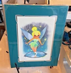 Disney WonderGround Gallery Tinker Bell Deluxe Print by Joey Chou New