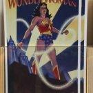 Six Flags Magic Mountain DC Comics Classic Wonder Woman Postcard New