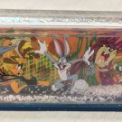 Six Flags Magic Mountain Looney Tunes Bugs Taz Road Runner Daffy Snow Globe New