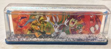 Six Flags Magic Mountain Looney Tunes Bugs Taz Road Runner Daffy Snow Globe New