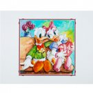 Disney Parks Donald and Daisy Duck Duck Love Deluxe Print by Randy Noble New