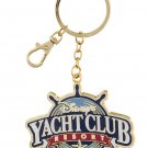 Disney's Yacht Club Resort Metal Keyring Keychain New
