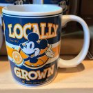 Disney Parks Mickey Mouse Locally Grown Ceramic Mug *100% All Natural* New