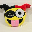 Six Flags Magic Mountain DC Comics Emoji Harley Quinn Big Pillow Plush New