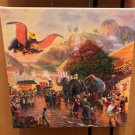 Disney Parks Dumbo The Great Canvas Wrap Print by Thomas Kinkade Studios New