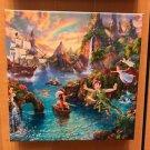 Disney Parks Peter Pan Never Land Canvas Wrap Print Thomas Kinkade Studios New