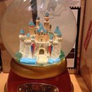 Disneyland Resort Sleeping Beauty's Castle Musical Snow Globe Hard to Find (New)