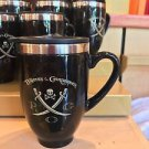 Disney Parks Pirates of The Caribbean Stainless Steel / Ceramic Travel Mug New