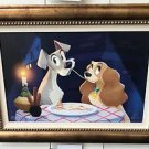 Disney WonderGround Lady and The Tramp Bella Notte LE Giclee Bill Robinson New