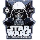 "Disney Parks Run Disney 2017 Star Wars Half Marathon Darth Vader 6"" Magnet New"