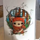 Disney WonderGround Star Wars Yub Yub Postcard by Chris Uminga New