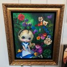 Disney WonderGround Alice in The Garden LE Giclee by Jasmine Becket-Griffith New