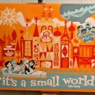 Disney Parks Exclusive It's A Small World LE Giclee by Mike Peraza New