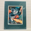 Disney WonderGround Gallery Power Mouse Mickey Deluxe Print by Jeff Granito New