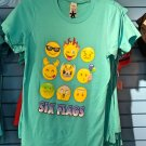 Six Flags Magic Mountain Adult Emoji T-Shirt SIZE S,M,L XL,XXL New