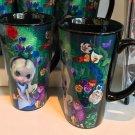 Disney WonderGround Alice in The Garden Tall Ceramic Mug Jasmine Becket-Griffith